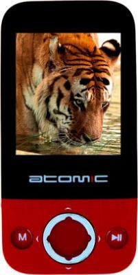 MP3-плеер Atomic S130 (4GB, черно-красный) - общий вид