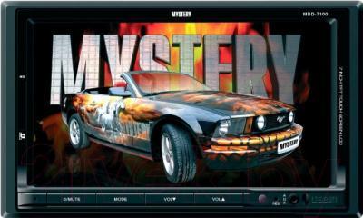 Бездисковая автомагнитола Mystery MDD-7100 - общий вид