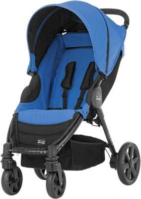 Детская прогулочная коляска Britax B-Agile 4 (Blue Sky) - общий вид