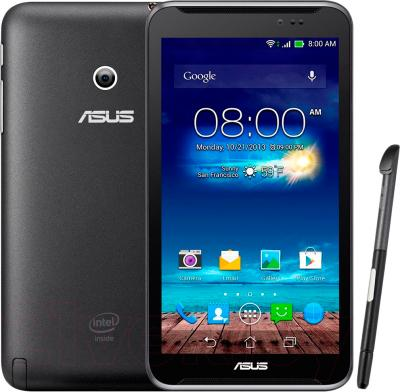 Планшет Asus Fonepad Note 6 ME560CG-1B034A (16GB, 3G, Black) - передняя и задняя панели со стилусом