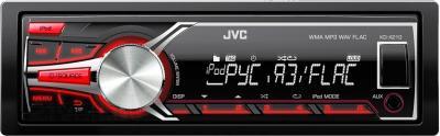 Бездисковая автомагнитола JVC KD-X210EE - общий вид