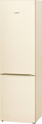 Холодильник с морозильником Bosch KGV39VK23R - общий вид