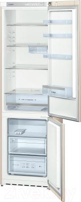 Холодильник с морозильником Bosch KGV39VK23R - в открытом виде