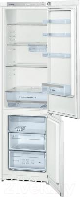Холодильник с морозильником Bosch KGV39VW23R - в открытом виде