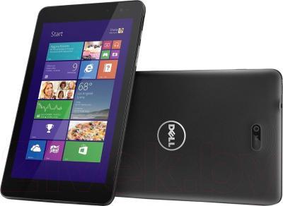 Планшет Dell Venue 8 Pro (64GB, 3G, Black) - с задней панелью