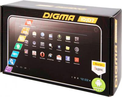 Планшет Digma IDJD 7n (Black) - упаковка