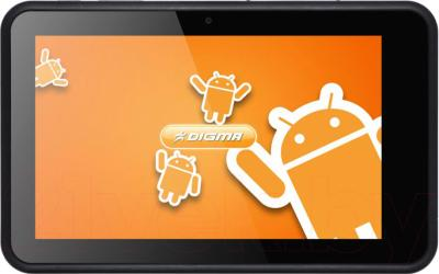 Планшет Digma iDnD7 3G (Black) - общий вид