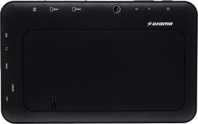 Планшет Digma iDnD7 3G (Black) - вид сзади
