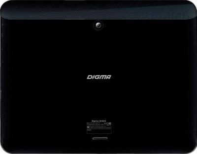 Планшет Digma IDrQ 10 3G (Black) - вид сзади