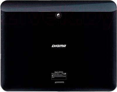 Планшет Digma IDrQ 10 (Black-Silver) - вид сзади