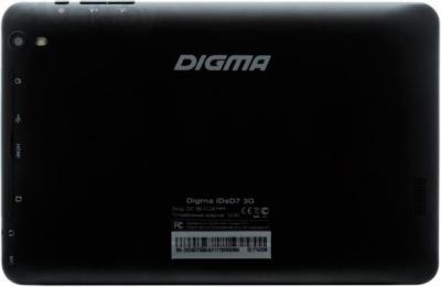 Планшет Digma IDsD 7 3G (Black) - вид сзади