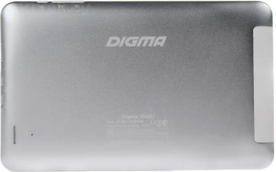 Планшет Digma iDsD7 (Silver-White) - вид сзади