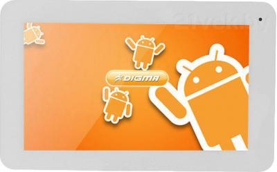 Планшет Digma iDsD7 (Silver-White) - общий вид