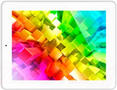 Планшет Digma IDsQ 10 3G (Silver-White) - общий вид
