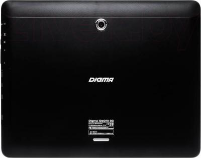 Планшет Digma IDsQ 10 3G (Black) - вид сзади