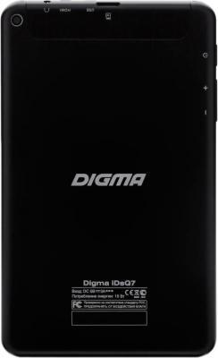 Планшет Digma iDsQ7 (Black) - вид сзади
