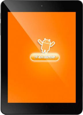 Планшет Digma iDsQ8 3G (Black) - общий вид