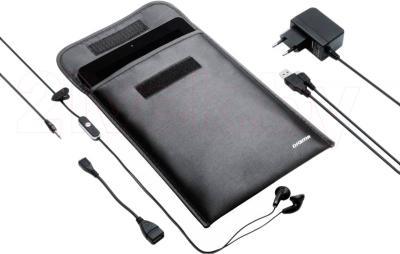 Планшет Digma iDsQ8 3G (Black) - в чехле с аксессуарами