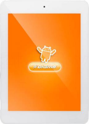 Планшет Digma iDsQ8 3G (Silver-White) - общий вид