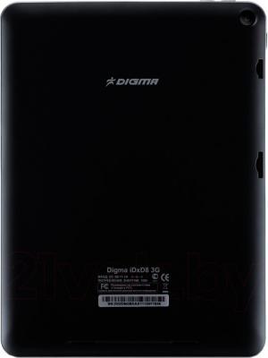 Планшет Digma D-Plane2 8' iDxD8 3G (Black) - вид сзади
