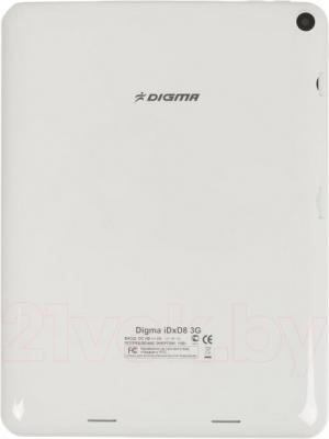 Планшет Digma D-Plane2 8' iDxD8 3G (White) - вид сзади