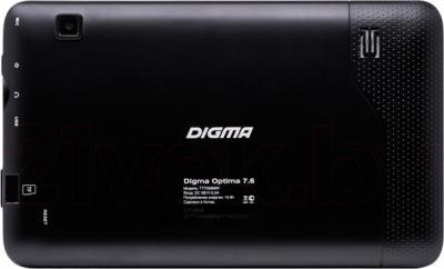 Планшет Digma Optima 7.6 - вид сзади