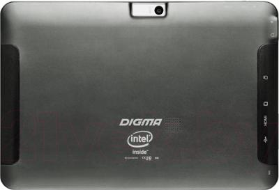 Планшет Digma Plane 10.1 3G (Black) - вид сзади