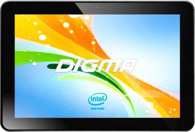 Планшет Digma Plane 10.1 3G (Black) - общий вид