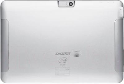 Планшет Digma Plane 10.1 3G (Silver-White) - вид сзади