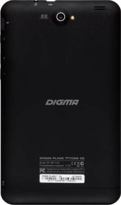 Планшет Digma Plane 7.0 3G (Black) - вид сзади