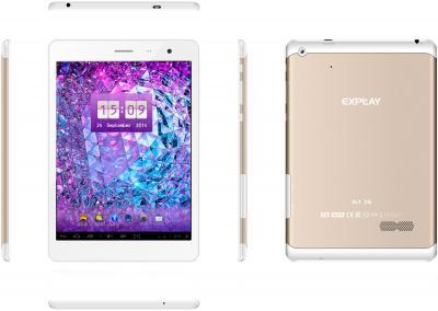 Планшет Explay Art 3G (Gold) - обзор всех панелей