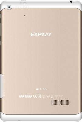 Планшет Explay Art 3G (Gold) - вид сзади