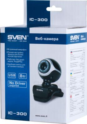 Веб-камера Sven IC-300 - коробка