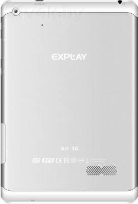 Планшет Explay Art 3G (White) - вид сзади