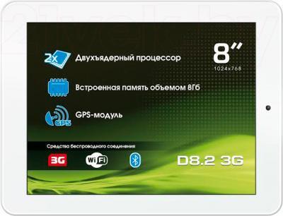 Планшет Explay D8.2 3G (White) - общий вид