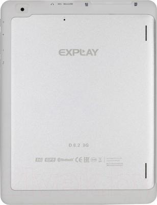 Планшет Explay D8.2 3G (White) - вид сзади