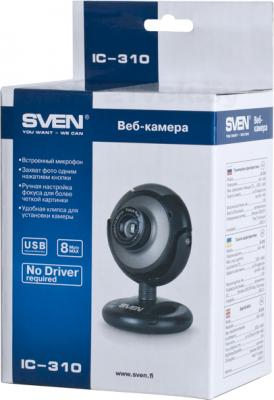 Веб-камера Sven IC-310 - коробка