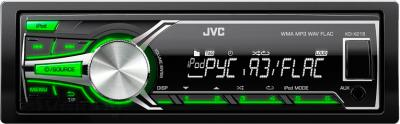 Бездисковая автомагнитола JVC KD-X215EE - общий вид