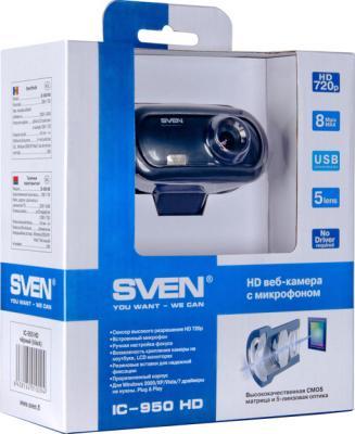 Веб-камера Sven IC-950 HD - коробка