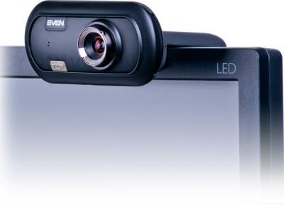 Веб-камера Sven IC-950 HD - на мониторе