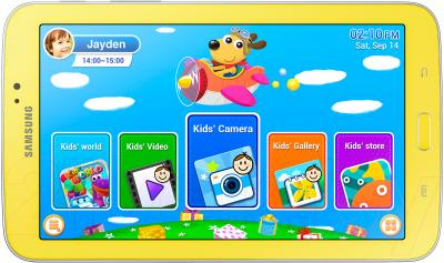 Планшет Samsung Galaxy Tab 3 Kids 8GB (SM-T2105) - общий вид