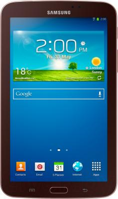 Планшет Samsung Galaxy Tab 3 7.0 16GB Gold Brown (SM-T210) - общий вид
