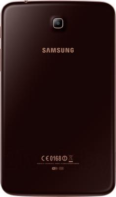 Планшет Samsung Galaxy Tab 3 7.0 16GB Gold Brown (SM-T210) - вид сзади