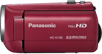 Видеокамера Panasonic HC-V130EE-R - вид сбоку