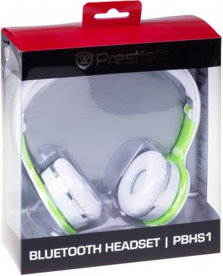 Наушники-гарнитура Prestigio PBHS1WG - в упаковке