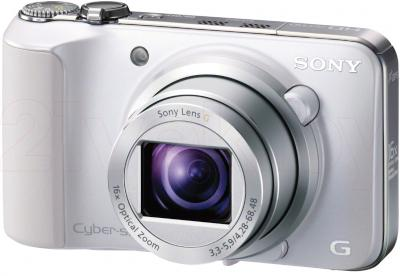 Компактный фотоаппарат Sony Cyber-shot DSC-HX10 (White) - общий вид