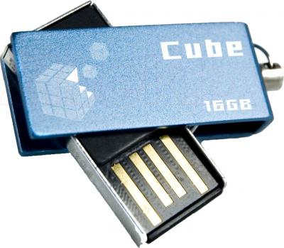 Usb flash накопитель Goodram Cube 16 Gb (PD16GH2GRCUBR9) - общий вид