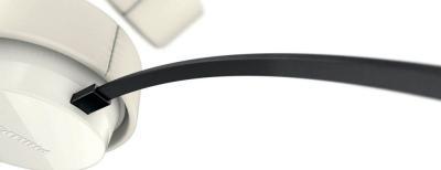 Наушники-гарнитура Philips SHL5205WT/10 - крепление кабеля