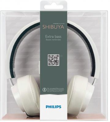 Наушники-гарнитура Philips SHL5205WT/10 - упаковка
