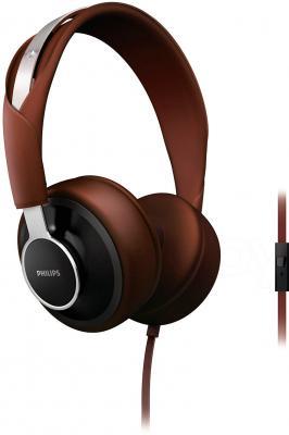 Наушники-гарнитура Philips SHL5605BK/10 - общий вид с микрофоном